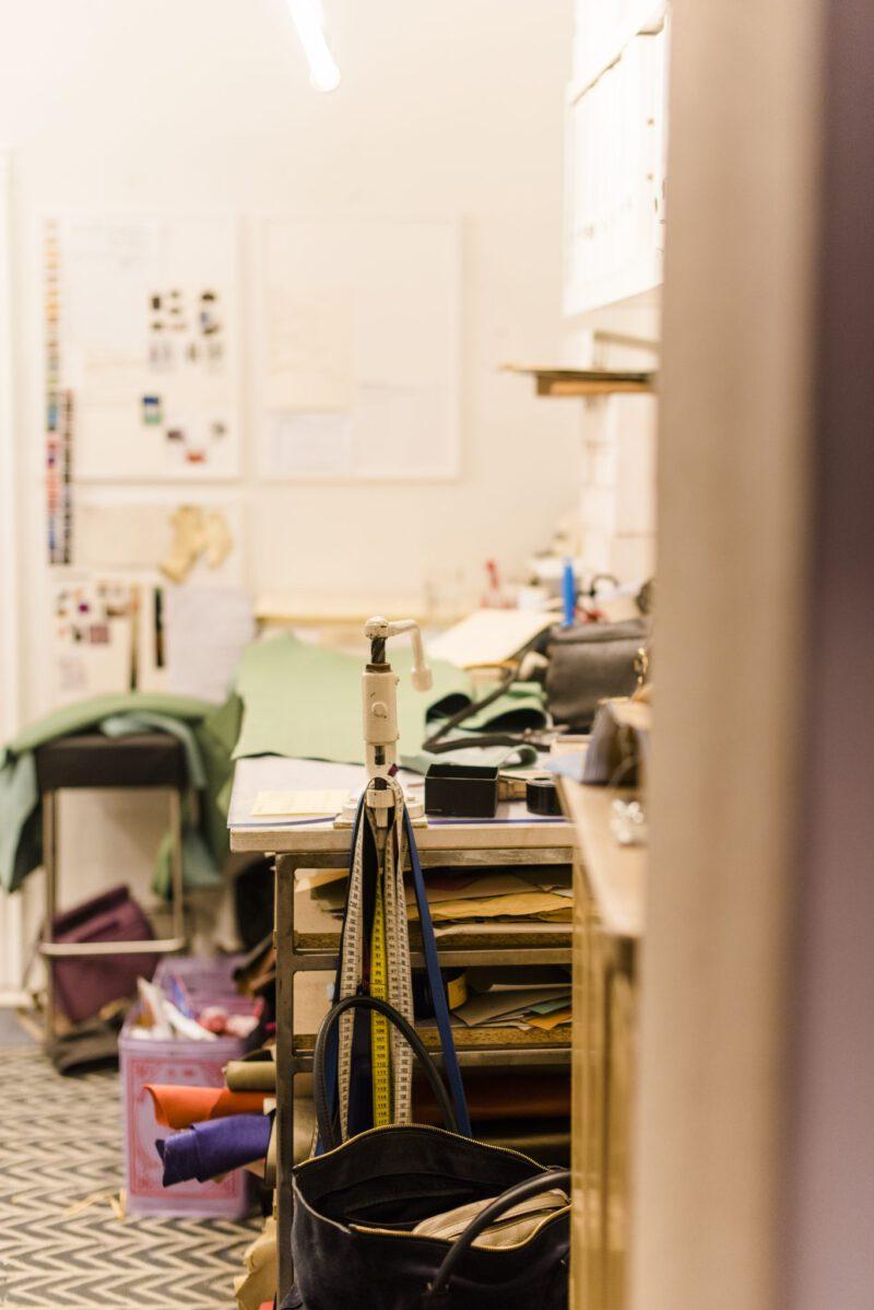 Die Produktion der Feinen Taschen von Karin Suchanka